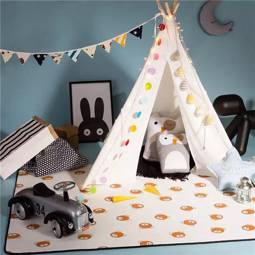 Cozy Teepee Tent - Assorted Colours - Nested Nurseries