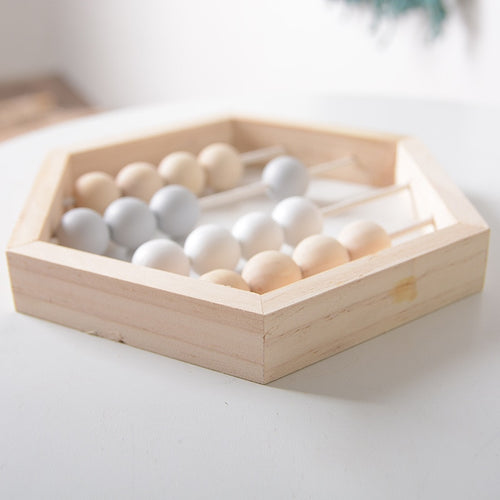 Nordic Style Wooden Abacus - Nested Nurseries