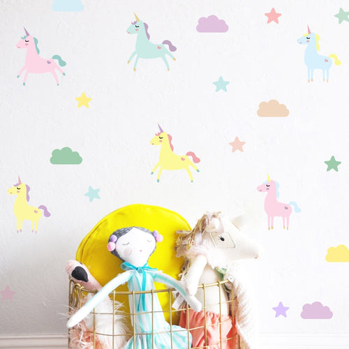 Unicorn Wall Decal - Nested Nurseries