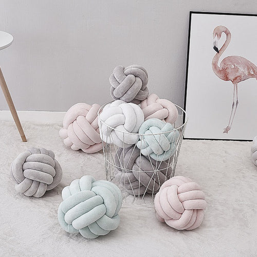 Nordic Knot Pillow - Nested Nurseries