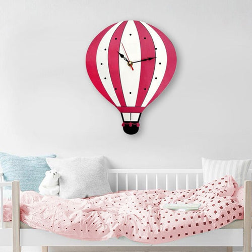 Hot Air Balloon Wall Clock - Nested Nurseries
