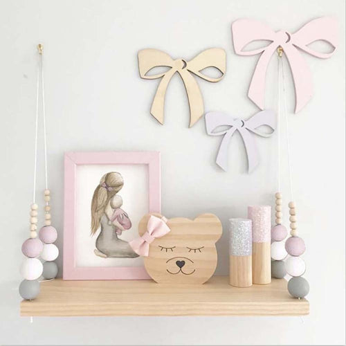 Chic Wall Shelf - Assorted Colours - Nested Nurseries