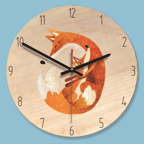 Fox Wall Clocks Collection - Nested Nurseries