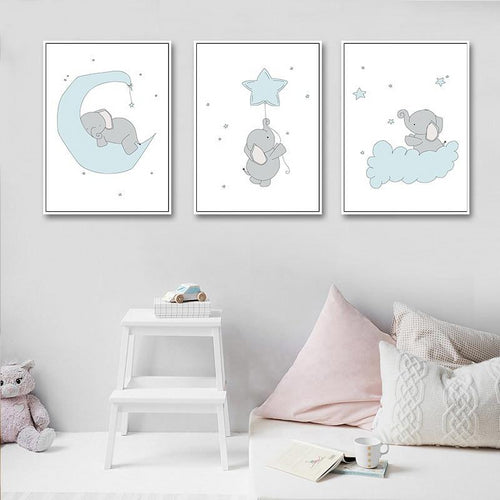 Dreamy Elephant Prints Collection - Nested Nurseries