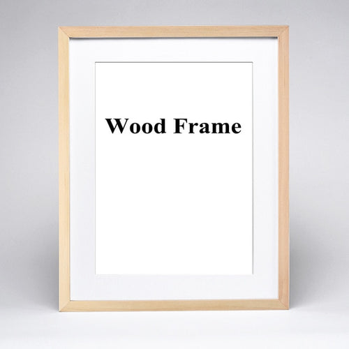 Wooden Frame Collection - Assorted Colours - Nested Nurseries
