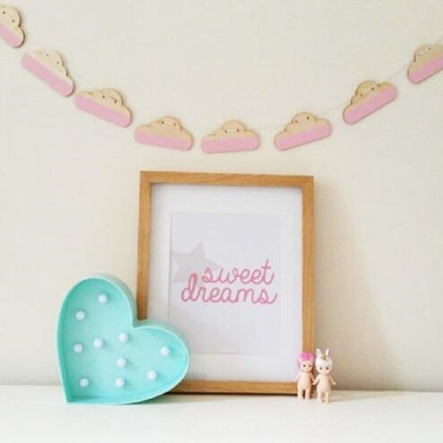 Wooden Cloud Garland - Nested Nurseries