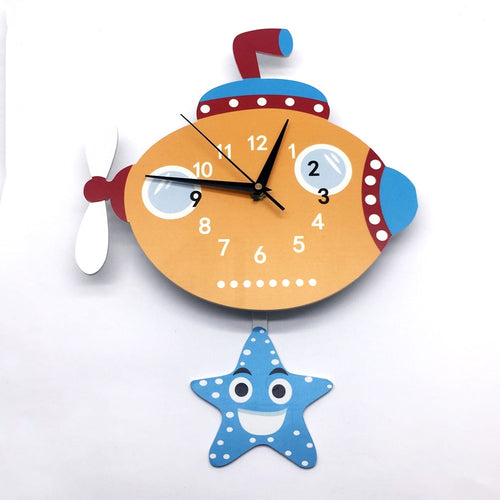 Pendulum Submarine Clock - Nested Nurseries