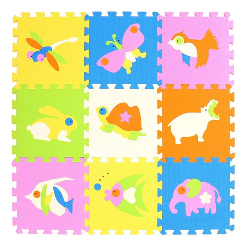 Children's Animal Foam Floor Tiles - Nested Nurseries