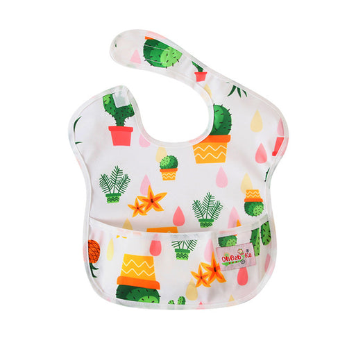 Cactus Pocket Bib - Nested Nurseries