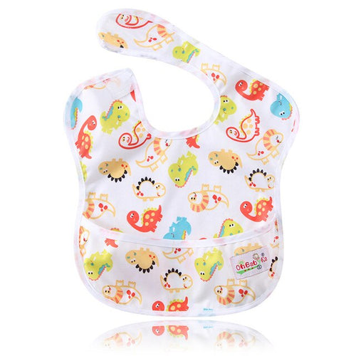 Dinosaur Pocket Bib - Nested Nurseries
