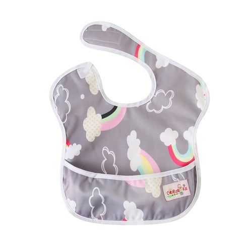 Rainbow Pocket Bib - Nested Nurseries