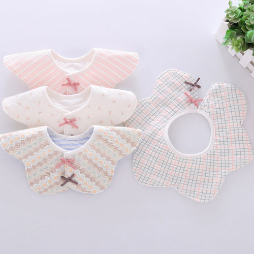 Ladylike Flower Bib - Assorted Colours - Nested Nurseries