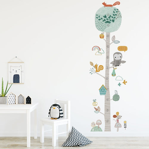 Forest Animal Wall Decals - Nested Nurseries
