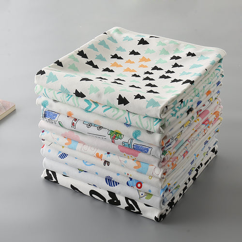 Soft Bamboo Waterproof Sheet - Assorted Colours - Nested Nurseries