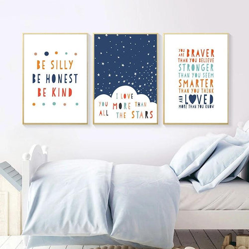 Affirmation Wall Print Collection - Nested Nurseries