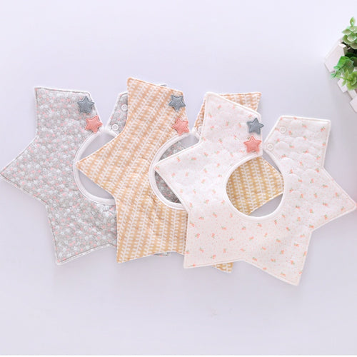Ladylike Star Bib - Assorted Colours - Nested Nurseries