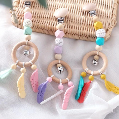 Dream Catcher Pram Clip - Assorted Colours - Nested Nurseries