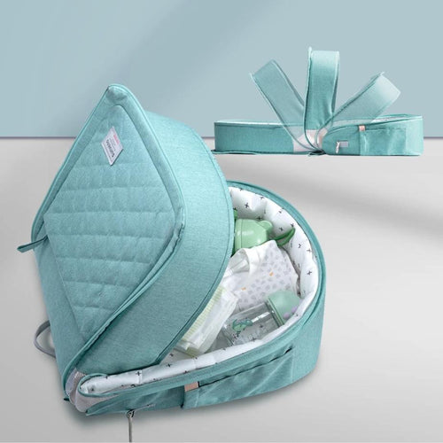 Sunveno Newborn Travel Crib - Assorted Colours - Nested Nurseries