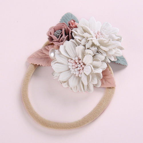 Floral Baby Girl Headbands - Assorted Style - Nested Nurseries