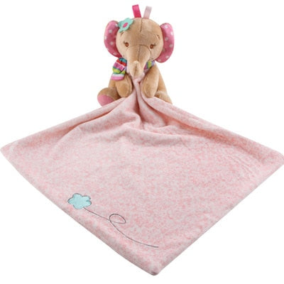 Soft Plush Security Cloth - Assorted Colours - Nested Nurseries