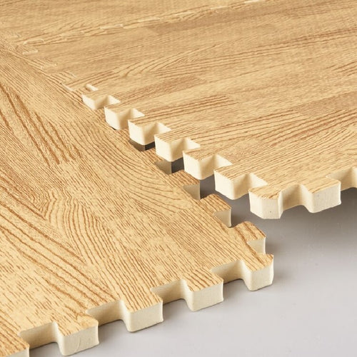 Timber Look Foam Floor Tiles - Nested Nurseries