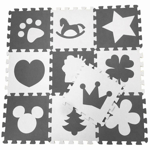 Kids Room Foam Floor Tiles - Assorted Colours - Nested Nurseries