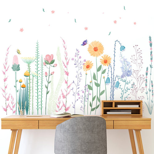 Wildflower Wall Decals - Nested Nurseries