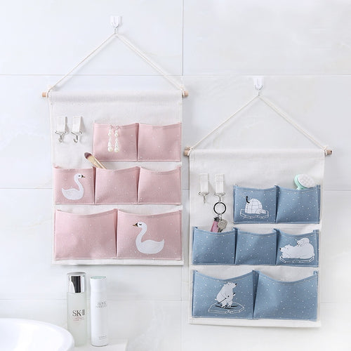 Wall Pocket Organiser - Nested Nurseries