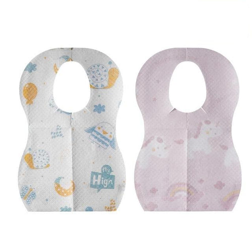 Disposable Baby Bib Packs - Nested Nurseries