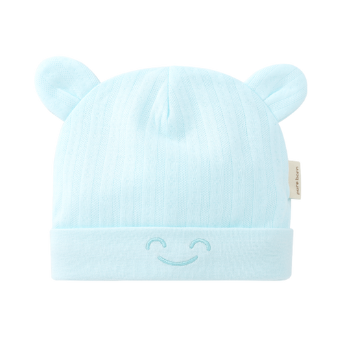 Cotton Beanie with Ears - Assorted Colours - Nested Nurseries