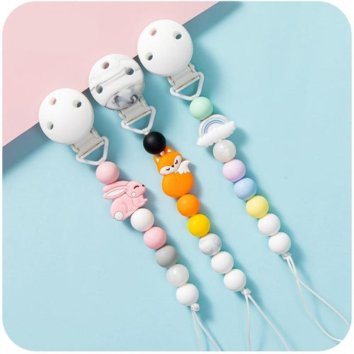 Beaded Silicone Clip Collection - Nested Nurseries