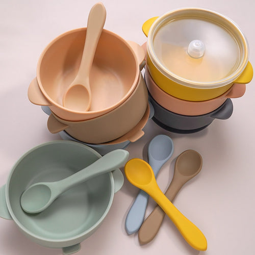 Silicone Suction Bowl Collection - Nested Nurseries