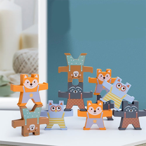 Bear Balancing Blocks - Nested Nurseries