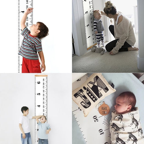 Kids Ruler Growth Chart - Nested Nurseries
