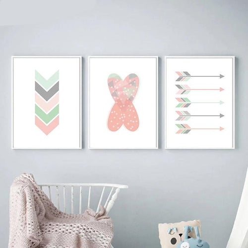 Arrow Wall Print Collection - Nested Nurseries