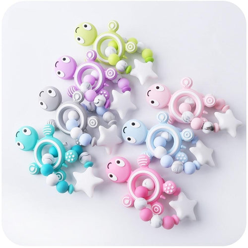 Teeny Turtle Teether - Assorted Colours - Nested Nurseries