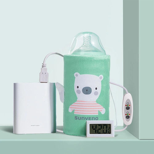 Portable Bottle Warmer - Assorted Colours - Nested Nurseries