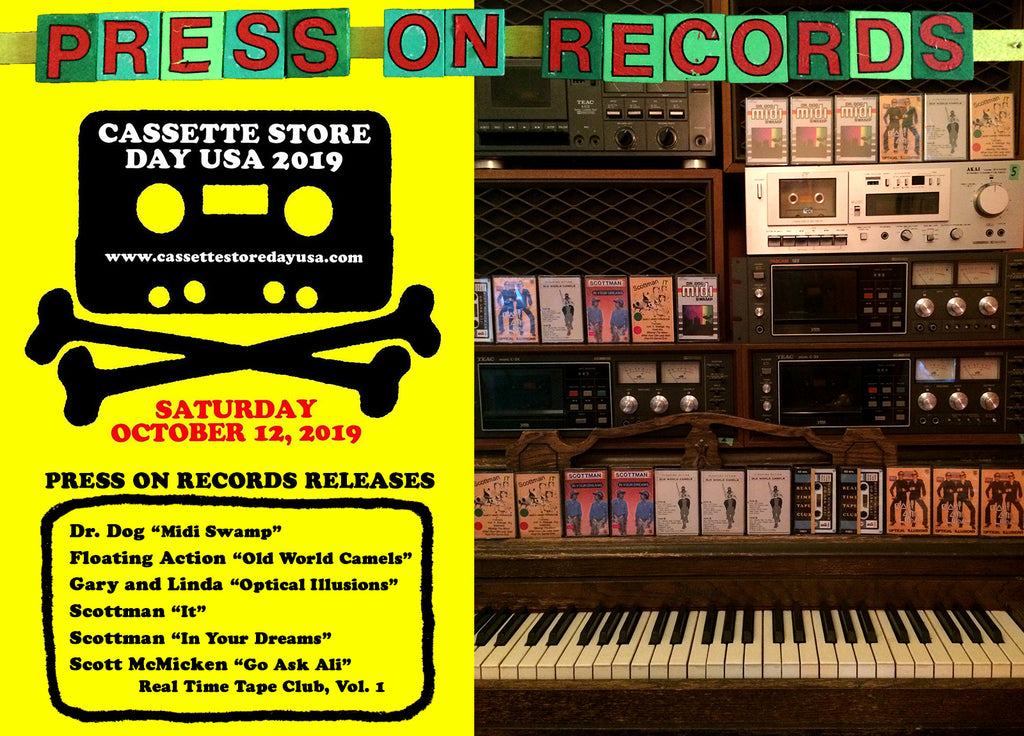 Cassette Store Day - 1 Month Away