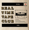 Real Time Tape Club tote bag design for the Press On Records vibe cassette series