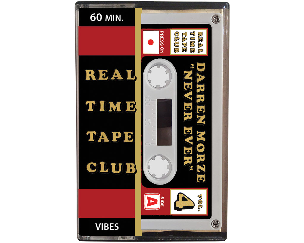 Real Time Tape Club, volume 4, is a cassette composed by Darren Morze
