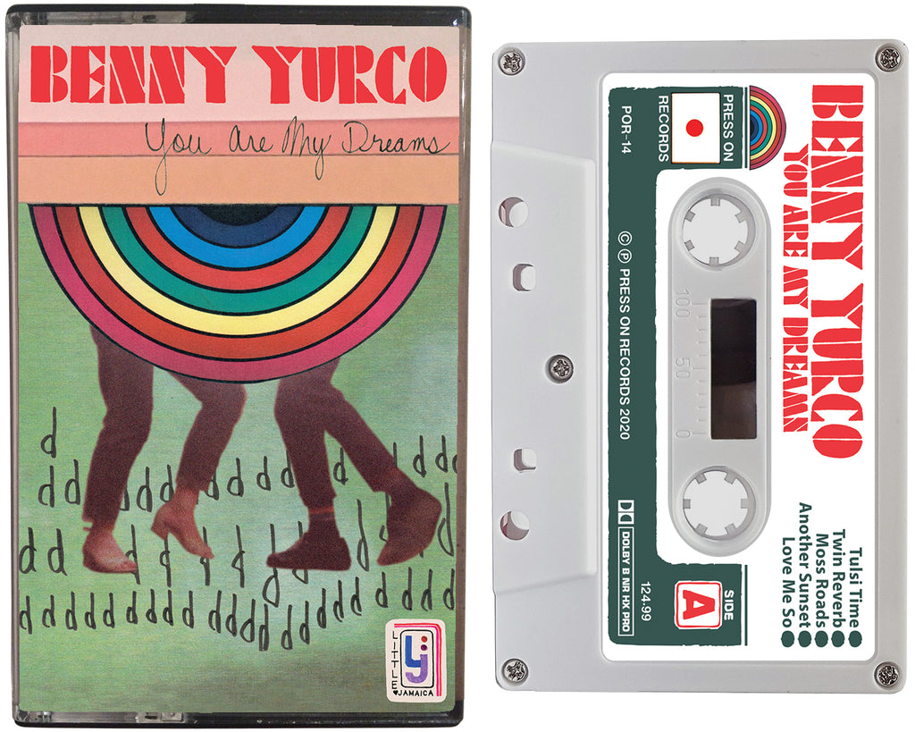 Album cover of the Benny Yurco cassette tape entitled, You Are My Dreams