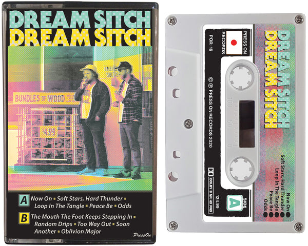Album cover of the Dream Sitch cassette tape on Press On Records