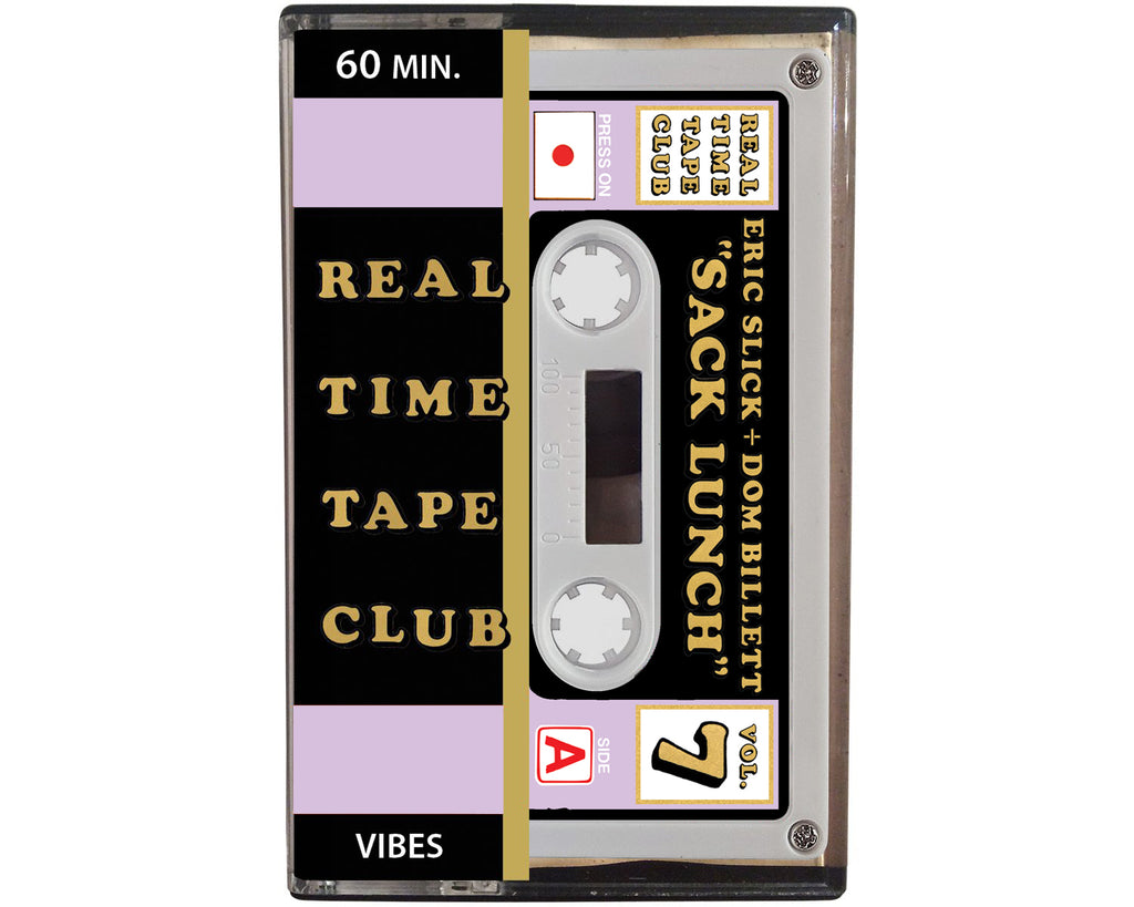 Real Time Tape Club cassette tape by Eric Slick and Dom Billett