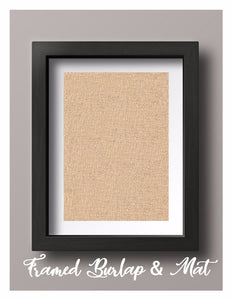 2 Years Down Forever to Go Personalized Anniversary Picture Burlap or Cotton Print