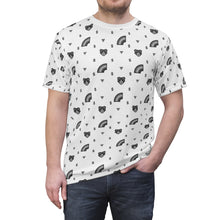 Load image into Gallery viewer, Grey-scaled Gay Bear Print Unisex T-Shirt - WallStreet Autist