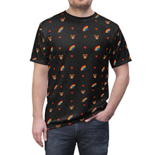 Load image into Gallery viewer, Gay Bear Print Unisex T-Shirt - WallStreet Autist