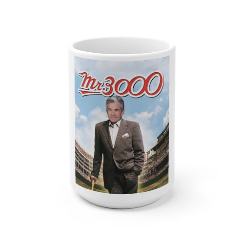 Mr. 3000 Powell Cermanic Mug - WallStreet Autist