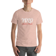 Load image into Gallery viewer, YOLO Colored Short-Sleeve Unisex T-Shirt - WallStreet Autist