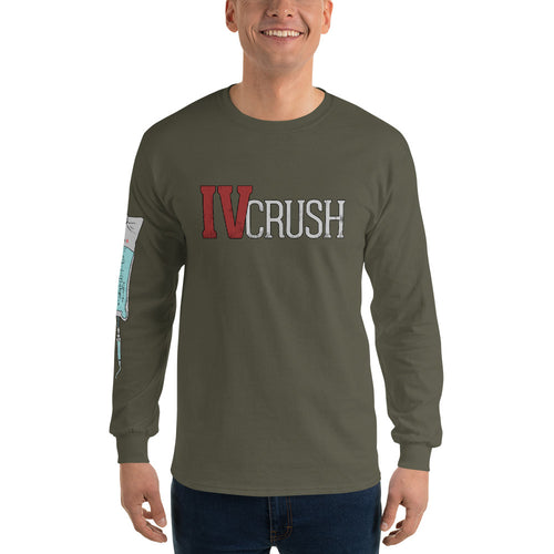 IV Crush Long Sleeve T-Shirt - WallStreet Autist