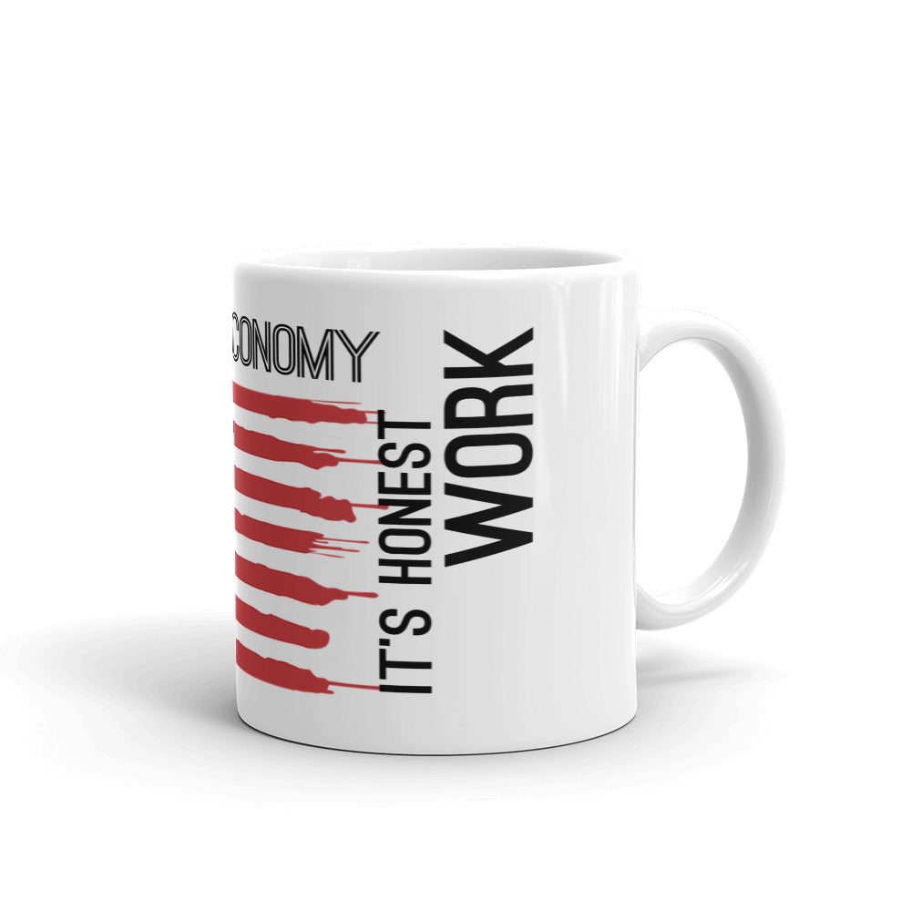 Shorting the US Economy Mug - WallStreet Autist